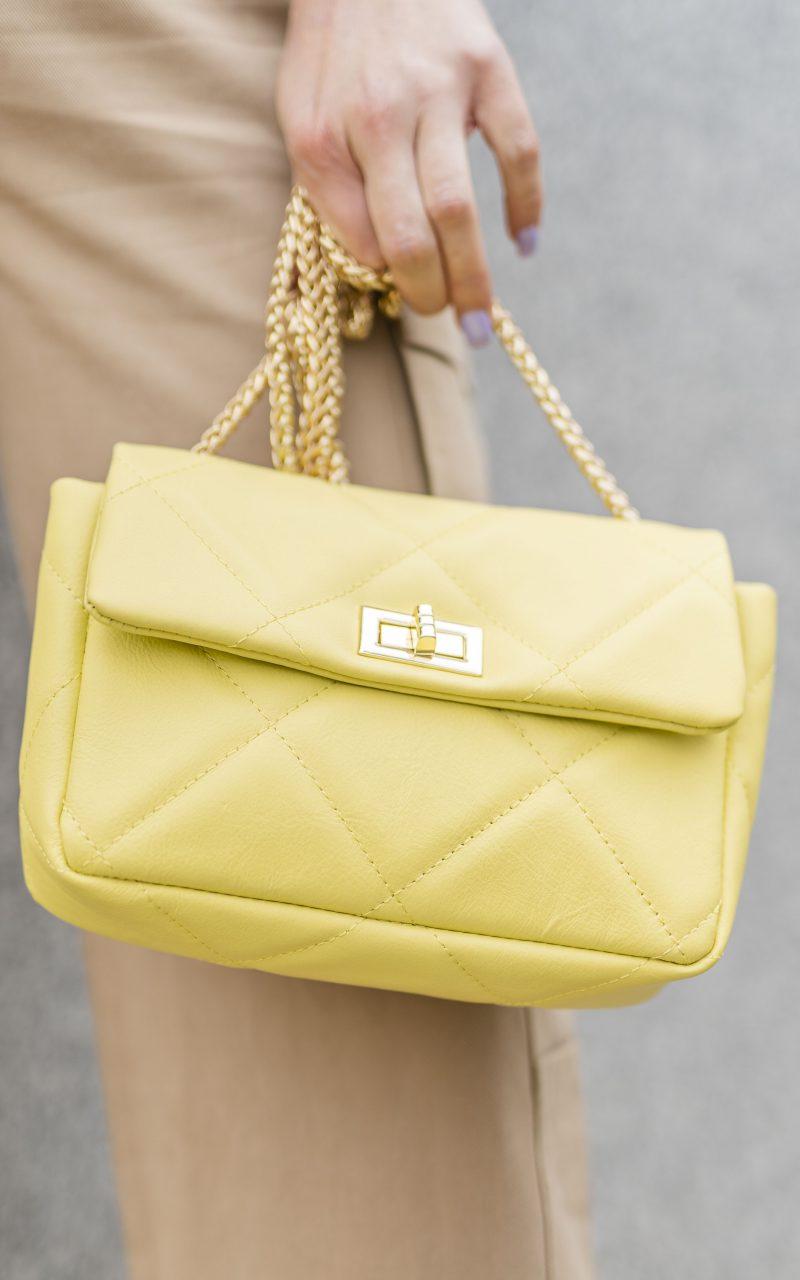Bolso amarillo Queen