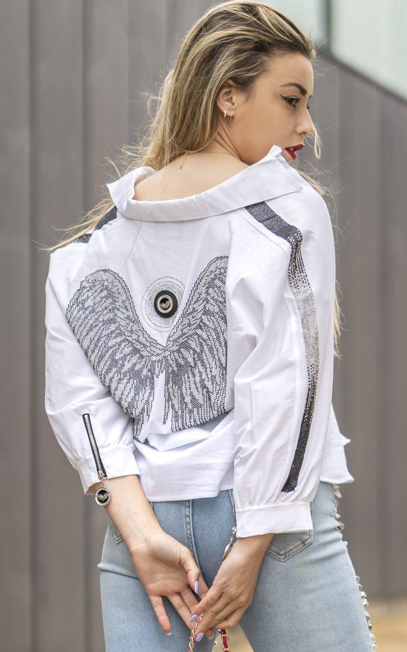 Camisa Blanca Fly